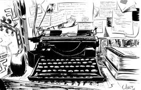 Typewriter Mess