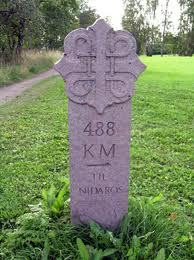 Pilgrim Stone Marker