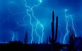 Desert Lightning Blue